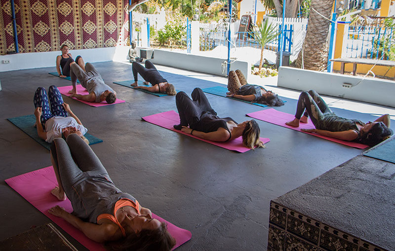 Fred's Finca - Yoga Session